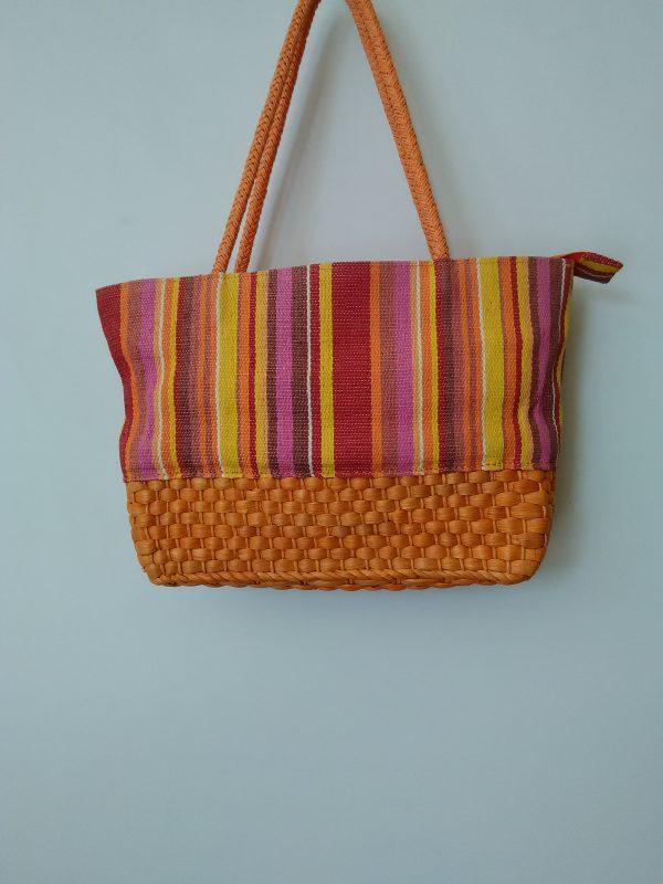 Дамска плетена чанта