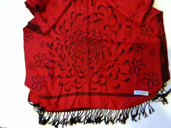 Дамски шал вълна