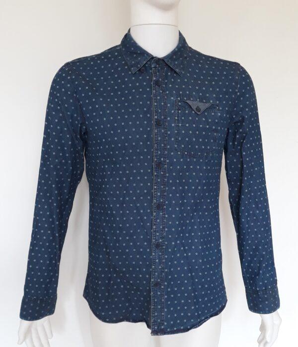 Мъжка дънкова риза Refill