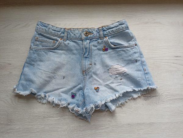 Детски дънкови панталони Zara