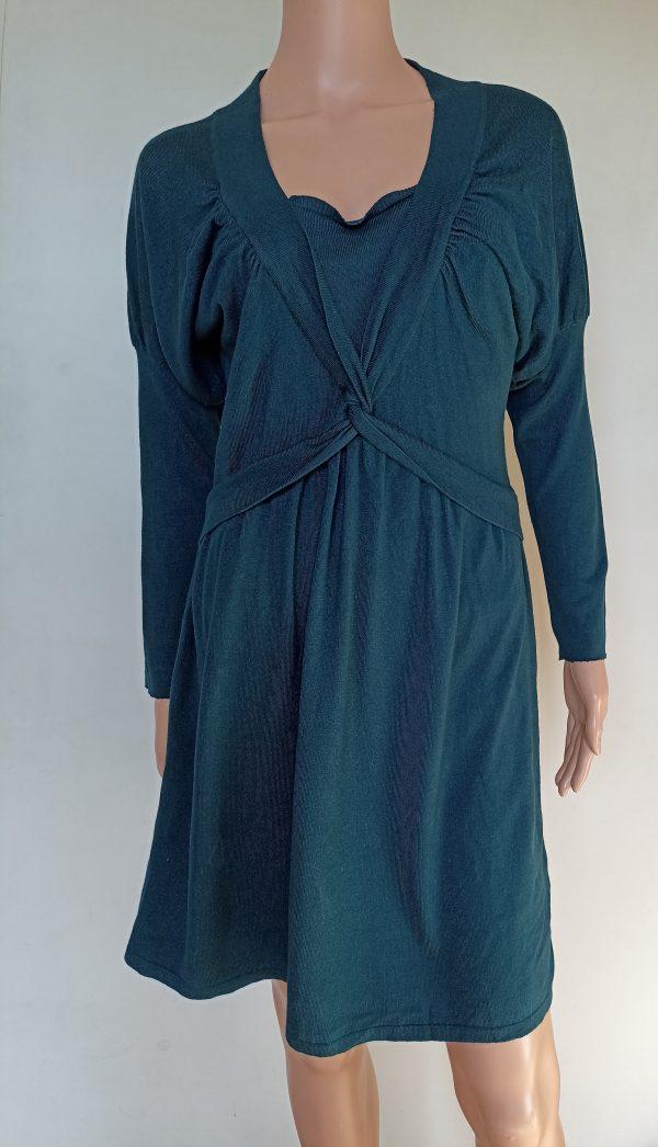 Дамска рокля мерино вълна